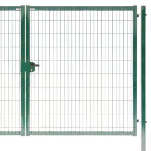 Ворота Medium New Lock 1,53х4,0 RAL 6005